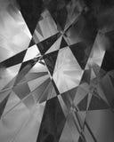 Black geometric pattern Royalty Free Stock Images