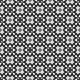 Black Geometric Seamless pattern in white background. Vector seamless pattern. Simple stylish abstract geometric background. Design for decor, prints, textile vector illustration