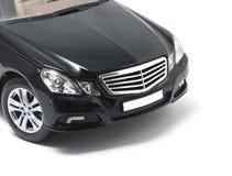 Black German expensive car Stock Image