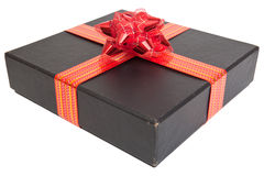 Black gift Royalty Free Stock Photography