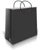 Black Gift Bag Stock Images
