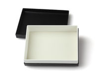 Black gift Box Stock Image