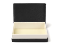 Black Gift Box Royalty Free Stock Photo