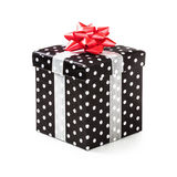Black gift box Stock Photo