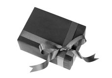 Black gift Stock Image