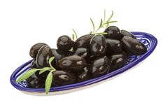 Black gigant olives Stock Image