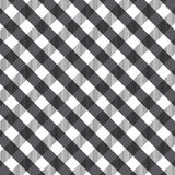 Black gingham background Stock Images