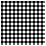 Black Gingham Royalty Free Stock Photo