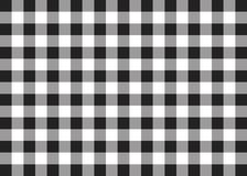 Black Gingham Pattern Background Royalty Free Stock Photos