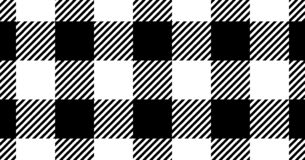 Black gingham pattern background.Texture from rhombus.Vector ill. Ustration.EPS-10 vector illustration