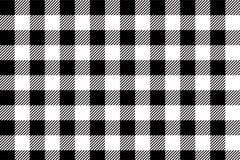 Black gingham pattern background.Texture from rhombus.Vector illustration.EPS-10. Black gingham pattern. Texture from rhombus/squares for - plaid, tablecloths stock illustration