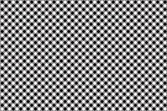 Black gingham pattern background.Texture from rhombus.Vector illustration.EPS-10. Black gingham pattern. Texture from rhombus/squares for - plaid, tablecloths royalty free illustration