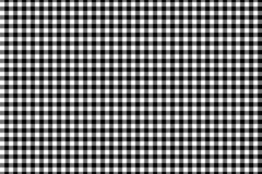 Black Gingham pattern. Texture from rhombus/squares for - plaid, tablecloths, clothes, shirts, dresses, paper, bedding, blankets,. Quilts and other textile vector illustration