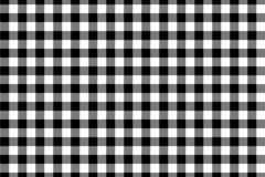 Black Gingham pattern. Texture from rhombus/squares for - plaid, tablecloths, clothes, shirts, dresses, paper, bedding, blankets,