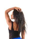 Black girl from back. Stock Image