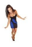 Black girl in dress. Stock Image