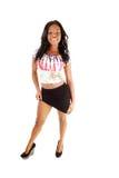 Black girl standing. Stock Photography