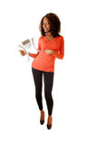 Black Girl With Scale. Stock Image