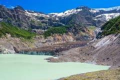 Black glacier, Nahuel Huapi National Park, Argentina Royalty Free Stock Photography