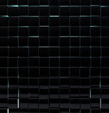 Black glass cubes Royalty Free Stock Image