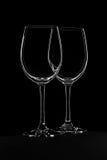 Black Glass Stock Image