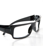 Black glasses Royalty Free Stock Photos