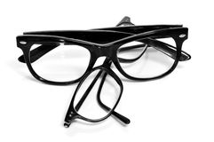 Black glasses Royalty Free Stock Image