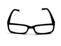 Black glasses Royalty Free Stock Photography