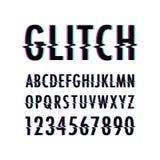 Glitch text background. A black Glitch text background Vector Illustration