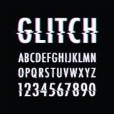 Glitch text background. A black Glitch text background Royalty Free Illustration
