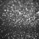 Black glitter background Stock Photography