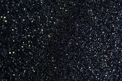 Black Glitter Background Stock Images