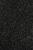 Black glitter texture background Royalty Free Stock Photos