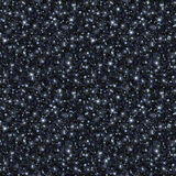 Black Glitter Texture, Seamless Sequins Pattern Royalty Free Stock Images
