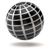 Black globe Stock Photography