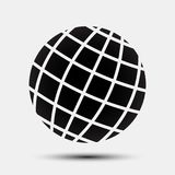 Black globes - for stock. Black globes icon - for stock Royalty Free Stock Photos