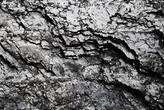Black glossy coal background Stock Images