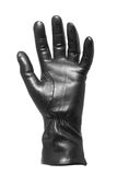 Black glove gesticulating Stock Photography