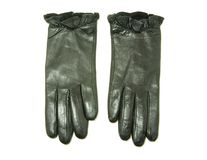 Black gloves Stock Images
