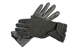 Black gloves. Royalty Free Stock Photo