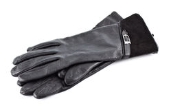 Black Gloves Royalty Free Stock Photography