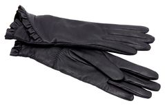 Black gloves Stock Photos