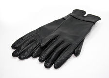 Black gloves Royalty Free Stock Images