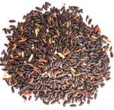Black Glutinous Rice On White II Royalty Free Stock Image