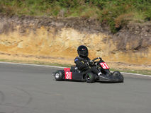 Black Go Kart Stock Images