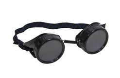 Black goggles Stock Photography