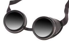 Black goggles. Royalty Free Stock Photo
