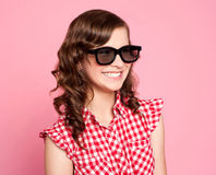 black goggles smiling teenager wearing стоковые фотографии rf