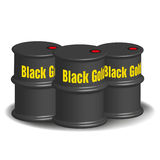 Black gold Royalty Free Stock Photo