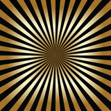 Black and gold abstract background Royalty Free Stock Photography